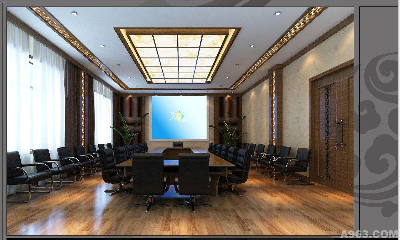 中式办公空间 - 昆明办公空间设计作品