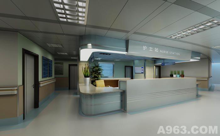 设计师: 吴磊      作品类别:医疗空间      医院室内设计说明