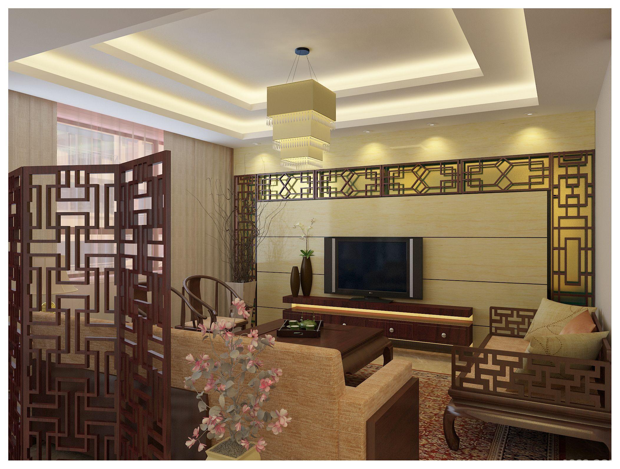 新中式室内设计说明_新中式室内设计