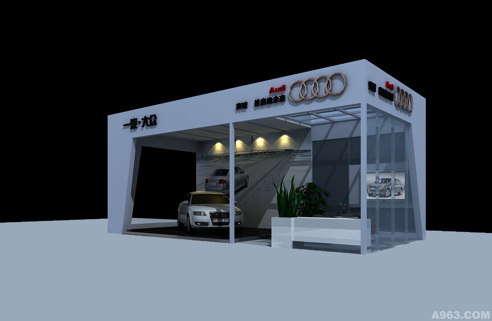 奥迪昆明4s店活动展厅 - 昆明展示空间设计作品 –