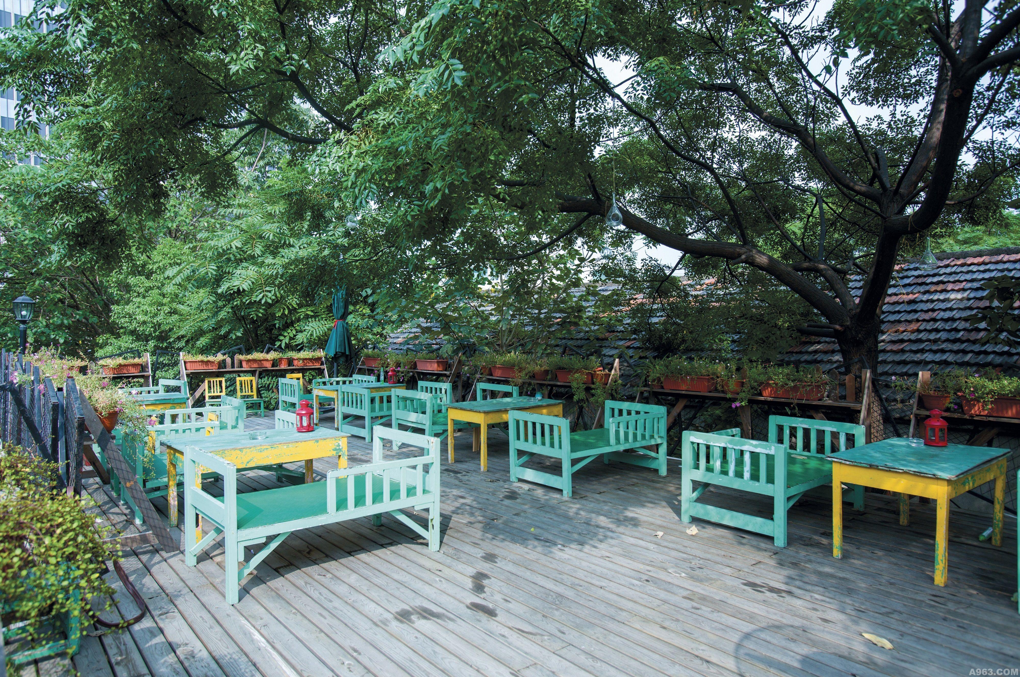 浅绿咖啡小院 - 餐饮空间 - 第2页 - 刘宏裕设计作品