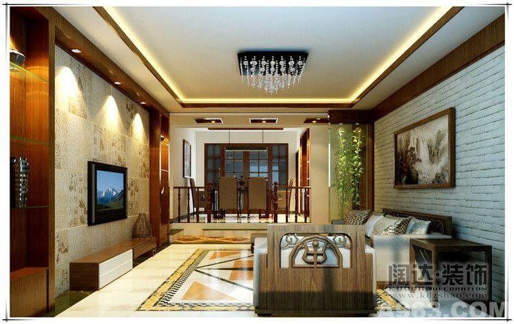 楼盘地址:碧鸡名城 建筑面积:125平米 设计专属:罗玉权 装修风格:中式