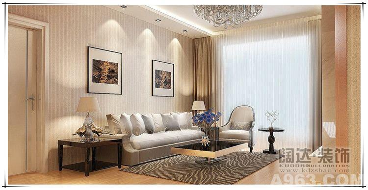 5阶台阶室内设计图-与磨砂玻璃效果相伴而生的配饰是亚光小五金件