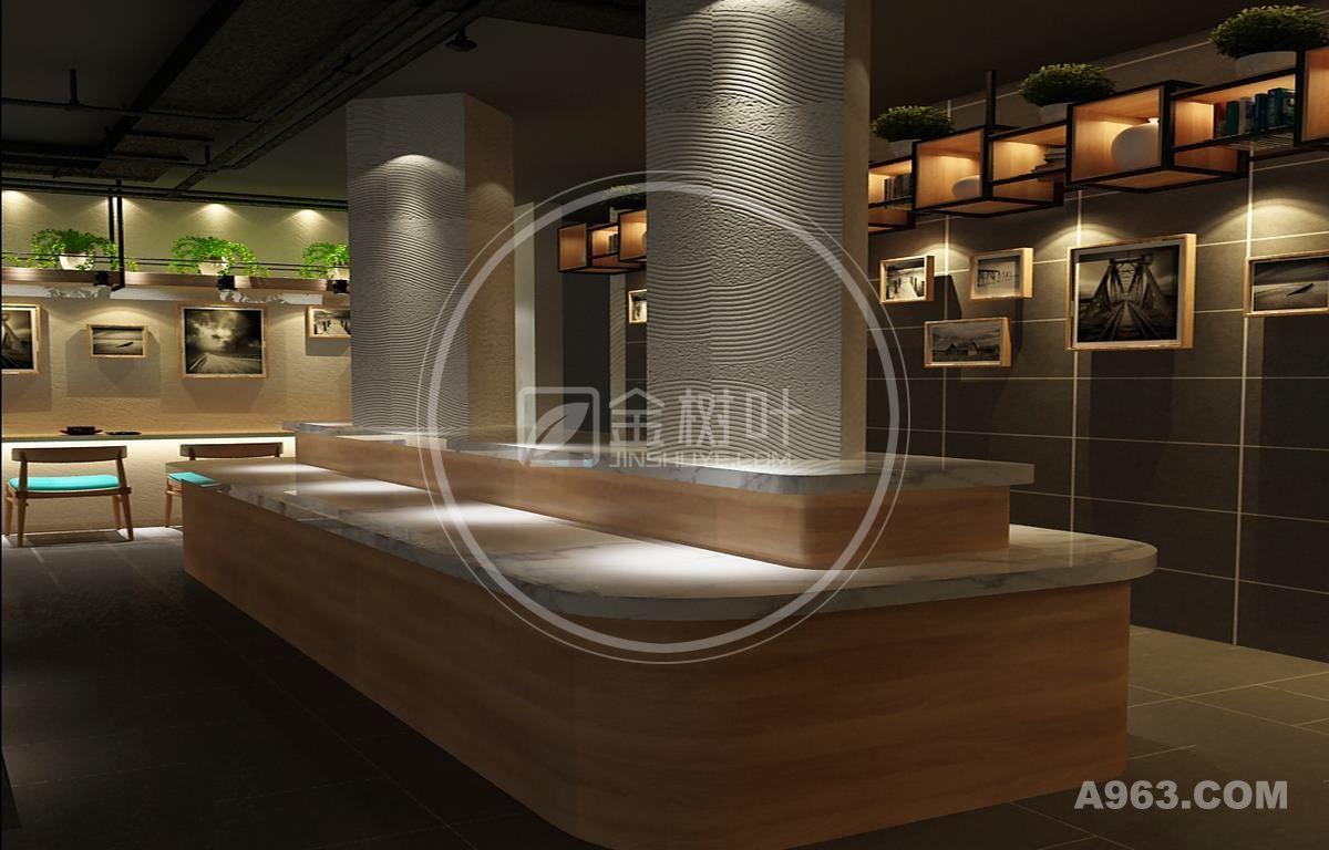 昆明无忧树素食餐厅设计-金树叶室内设计公司